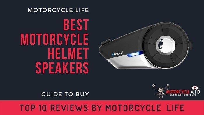 Best Motorcycle Helmet Speakers