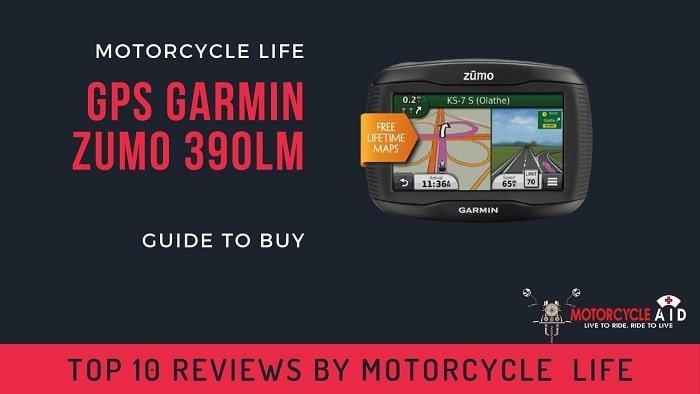 GPS Garmin Zumo 390LM